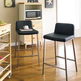SuperRange-Black  Counter Chair