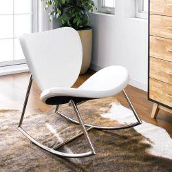Susan-White  Rocking Chair