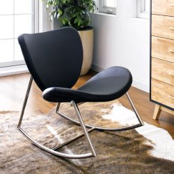 Susan-Black  Rocking Chair