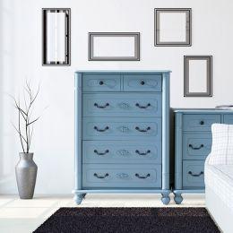 Y3099-10B Drawer Chest (Blue)