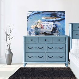 Y3099-20B Drawer Dresser (Blue)