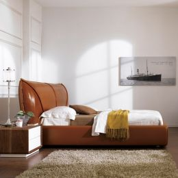 PYS1018  Leather Bed