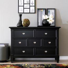 B3097-20-BLK  Drawer Dresser