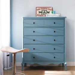 B2185-10B  5-Drawer Chest (Blue)