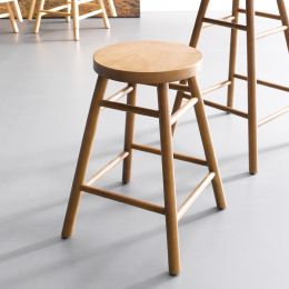 Uno-Walnut  Stool
