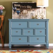 B3097-20B  Drawer Dresser (Blue)