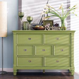 B3097-20G  Drawer Dresser (Green)