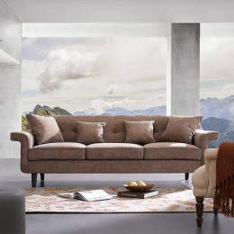 Draper  Brown Sofa