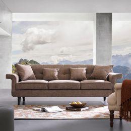 Draper  Brown Sofa