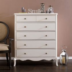 B2185-10C 5-Drawer Chest (Cream)