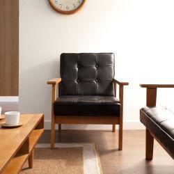 DT-1901-Black-PU  Single Chair
