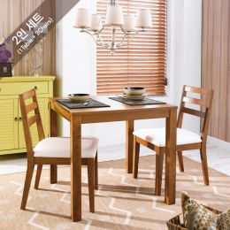 D282-2 Dining Set  (1 Table + 2 Chairs)