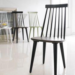 Julie-Black  Wooden Chair