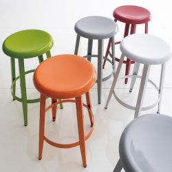 74099-Orange  Declan Counter Stool