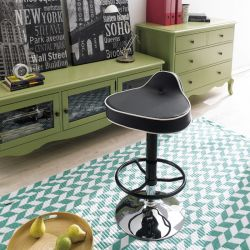 39492-Black   Mateo Adjustable Bar Stool