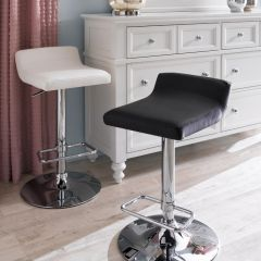 41692-Black  Fiesta Adjustable Bar Stool