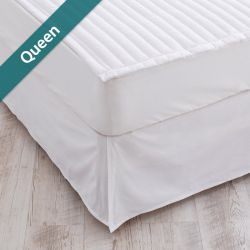 Matt Skirt-White-1500  Mattress Skirt