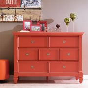 B3097-20O  Drawer Dresser (Orange)