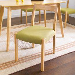 Mango-Green-C  Wooden Chair
