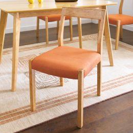 Mango-Orange-C  Wooden Chair