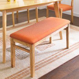 Mango-Orange-BH  Wooden Bench