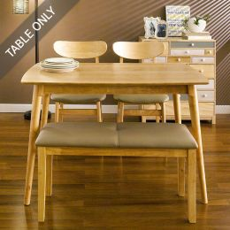 (0) Cacao-4-D  Dining Table  (Table Only)