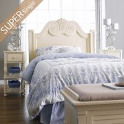 Y3605-64H-HB  Super Single Panel Bed