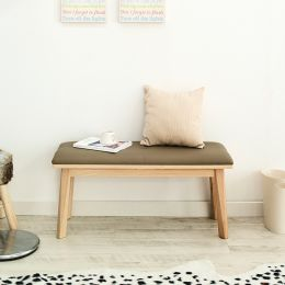 Zodax-Natural-B  Wooden Bench