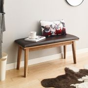 Zodax-Walnut-B  Woden Bench
