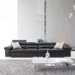 MU-2620 (2+2)  Leather Sofa