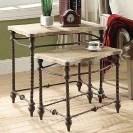 43312  Nesting Tables (2 Pcs 포함)