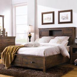 Restoration  Queen Storage Bed
