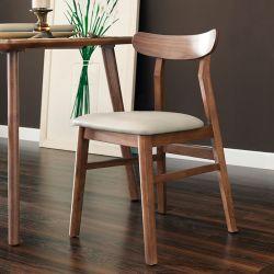 Luna-Walnut-C  Wooden Chair