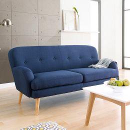 Hobart-Blue  3-Seater Sofa