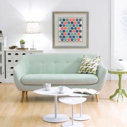 Alunda-Green  3-Seater Sofa
