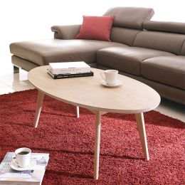 Marte Ellipse  Coffee Table