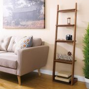 TP-449W  Walnut Ladder Rack
