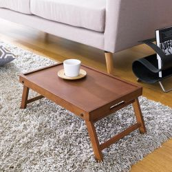 TP-450W  Walnut Bed Tray
