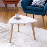 Vitis-White  Side Table