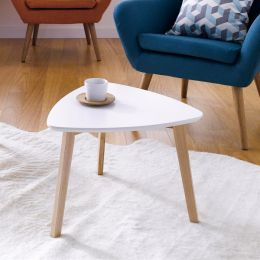 Vitis-White  Side Table