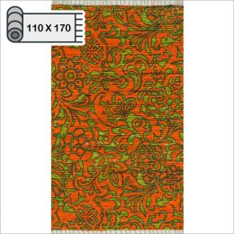HAR14  Orange Lime (110*170cm)