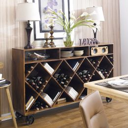 12580  Wine & Storage Rack