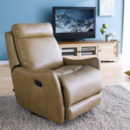 B1151-275-Camel  Recliner Chair