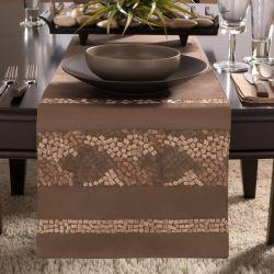 Mosaic  Table Runner  (Size: 33cm x 183cm)