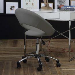 Plump-Grey  Desk Chair