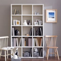 AB3500-Cream  Bookcase