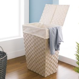 Strap Hamper-Cream  Hamper