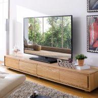 E339-Oak  TV Stand