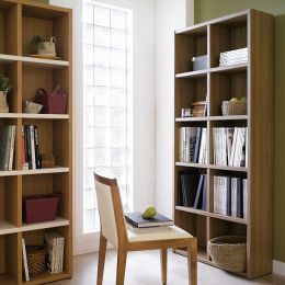 AB2500-Oak  Bookcase
