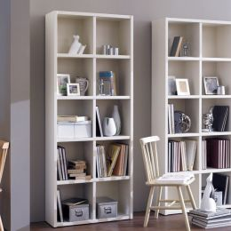 AB2500-Cream  Bookcase